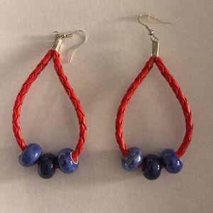 Hand made hobo earrings